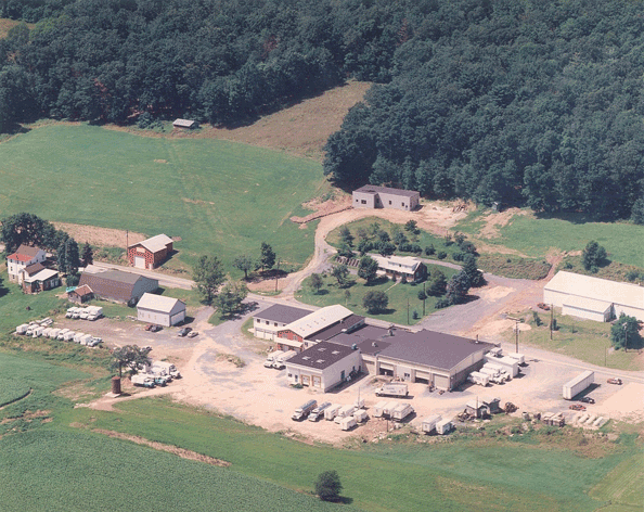 Ariel view in the late 1990's