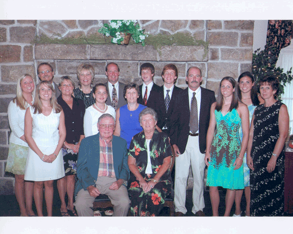 Daniel W. Guers and Family